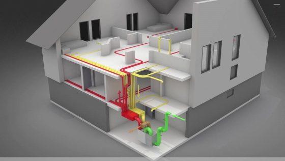 szellőztető rendszer házilag